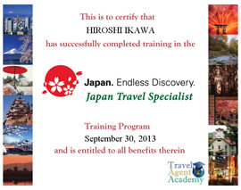 Japan Travel Specialist