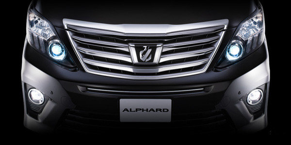 Japan hire car alphard1