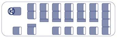 Mini Bus Seat Layout
