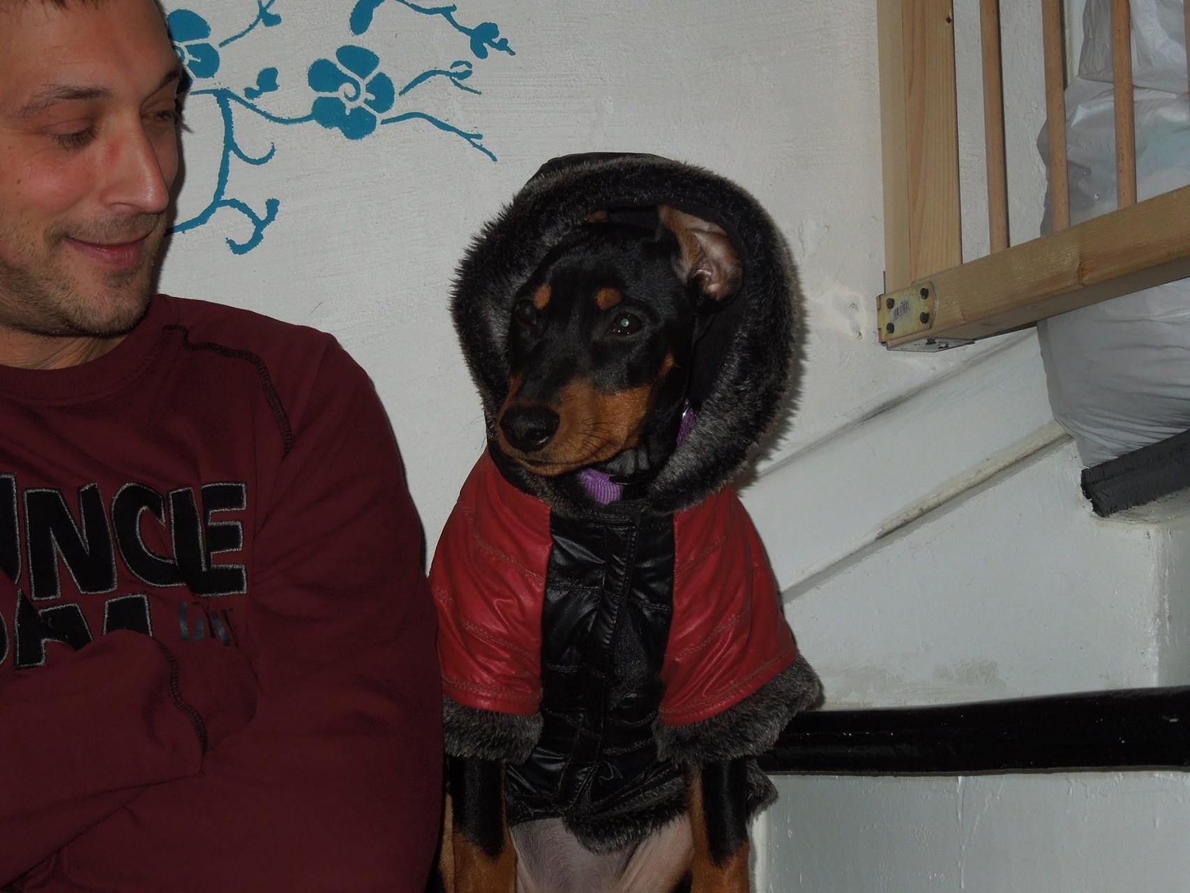 Ayla hat ein neuen Mantel