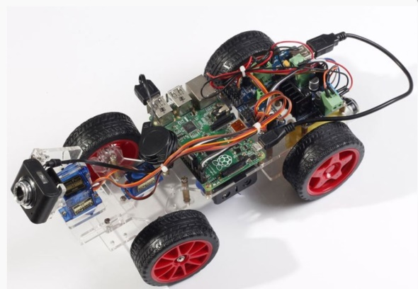 Robot voiture terminé