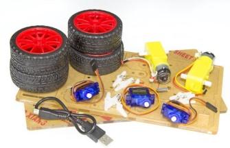 Composants pour robot voiture