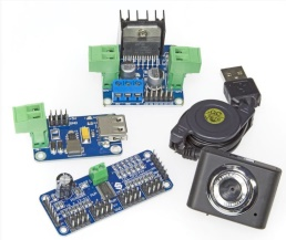 Composants du kit robot