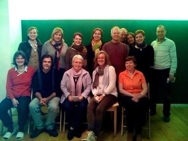 Bild von den Teilnehmern des 3P-Seminars im März 2014
