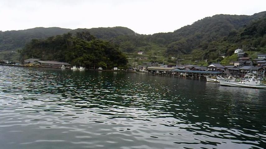 伊根 蒲入漁港