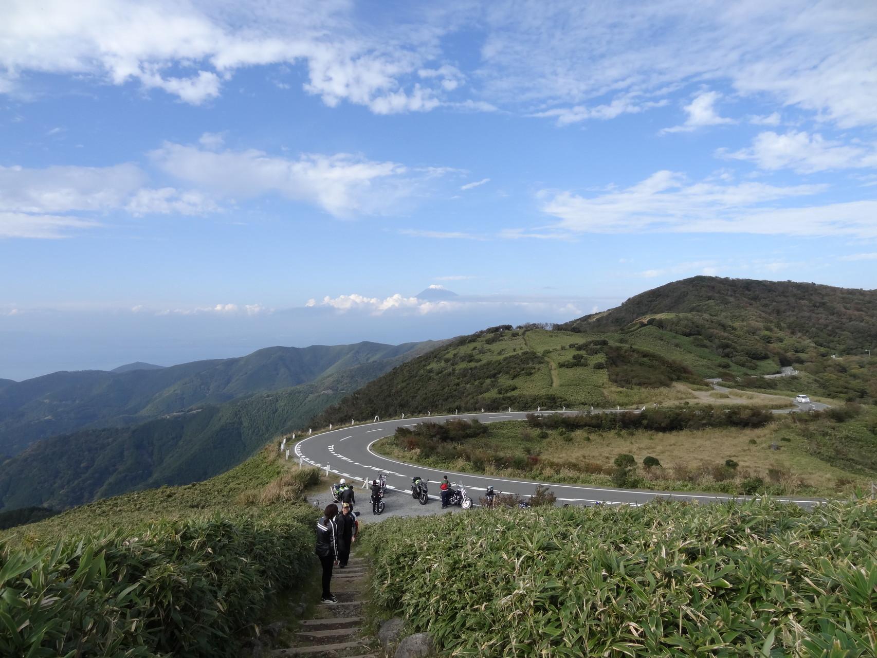 西伊豆スカイライン、達磨山より