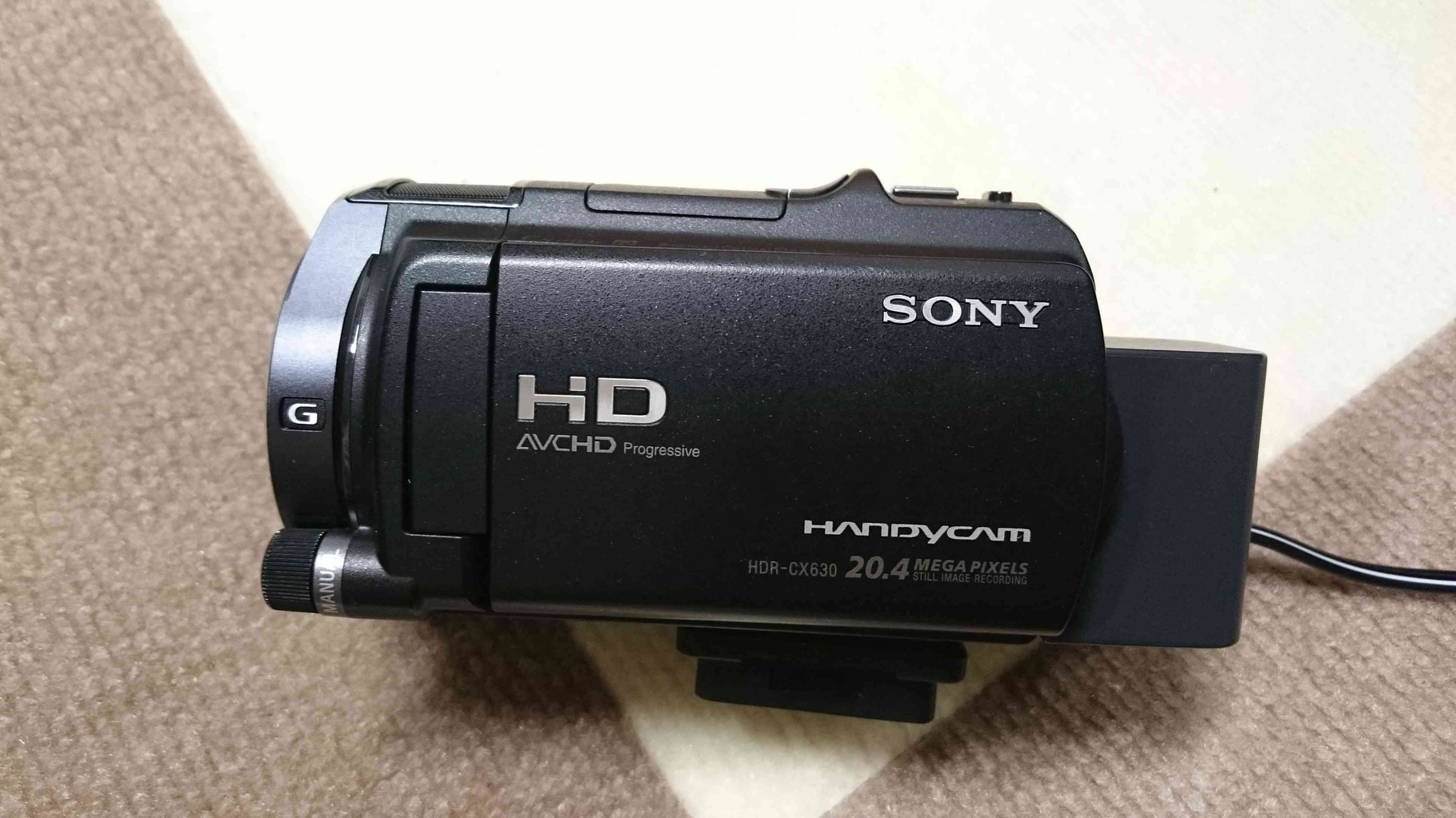 SONY HDR-CX630