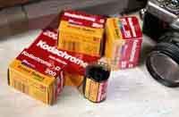 Kodachrome Film aus dem Jahre 2000