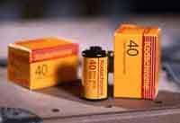 Diafilmstreifen Kodak 40