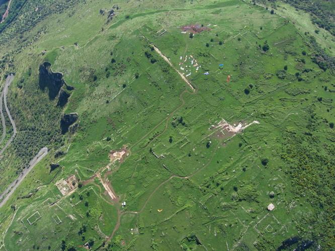 Die Ruinen von Norba bei Norma