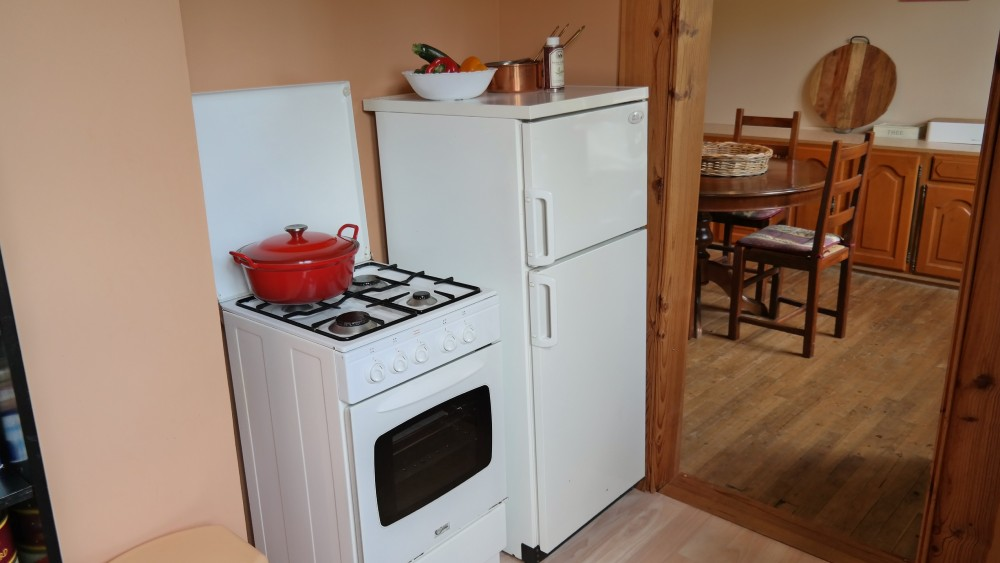 Kitchenette equipped with all conveniences