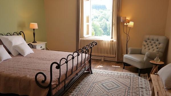 Chambre agréable avec vue magnifique