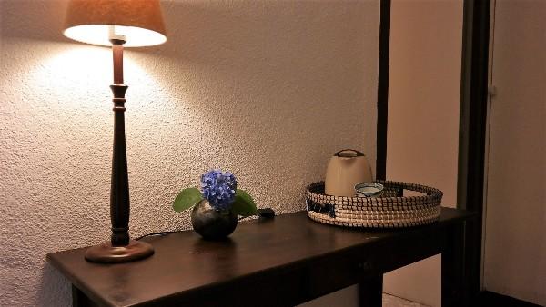 Facilités de thé et de café dans la chambre