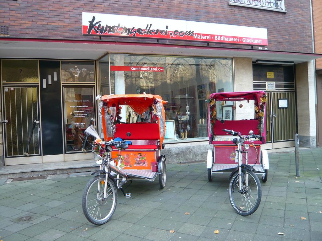 Kunstmüllerei, Düsseldorf-Bilk, Kunstwandel Shuttleservice