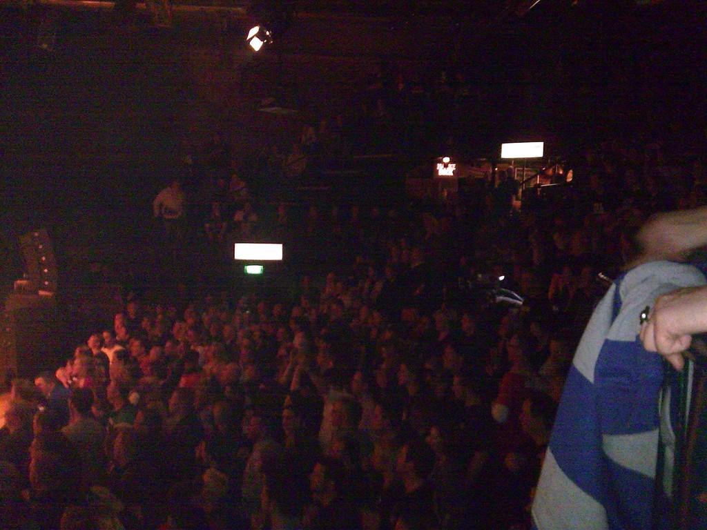 das Publikum war begeistert von