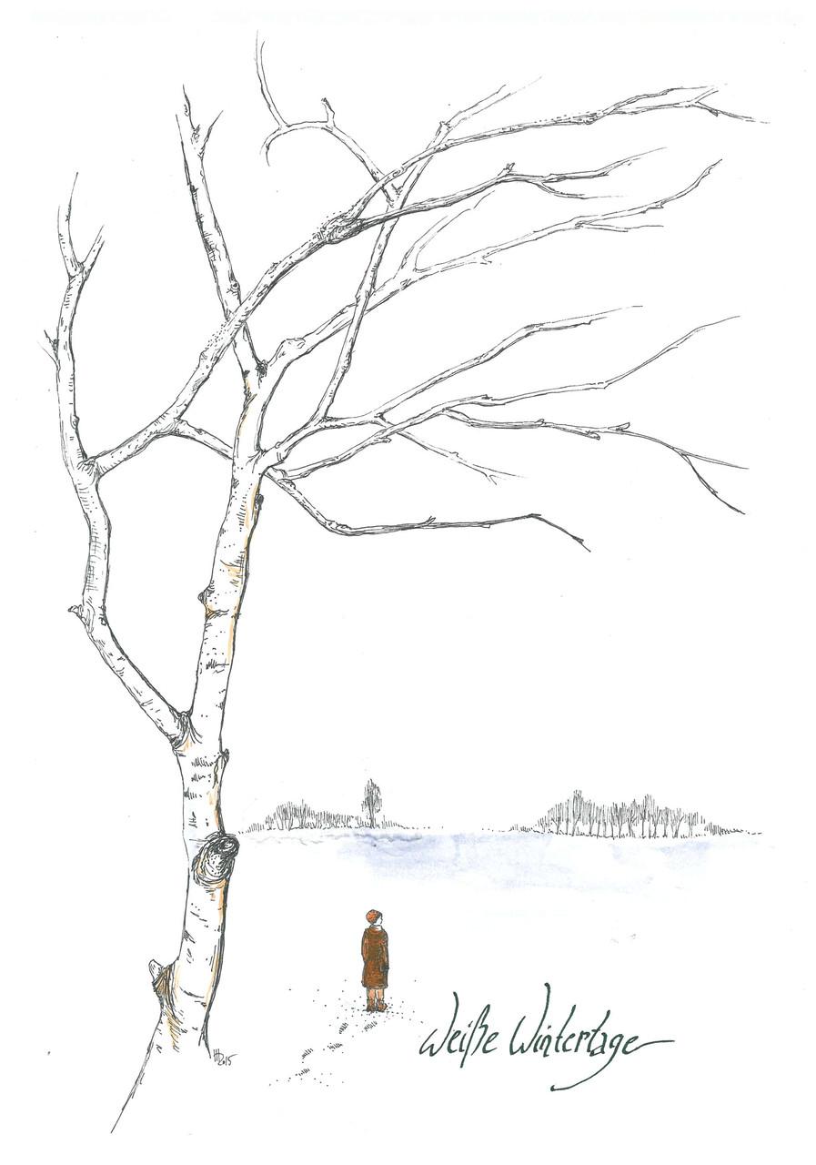 Weiße Wintertage