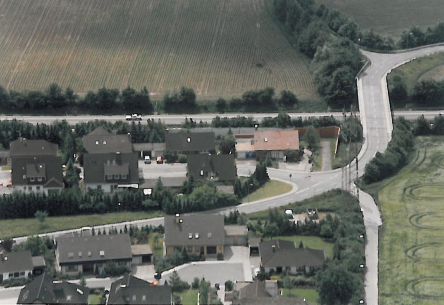 1985 - Oberes Wiesental mit Wegeführung