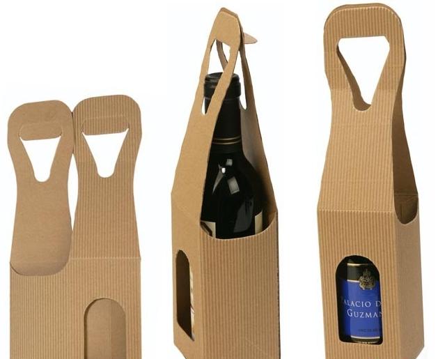 450290093 Caja de cartón para botella de vino - Imprenta Gráficas Esba