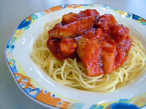 なすトマトスパゲティ ¥530