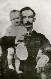 José Martí con su hijo