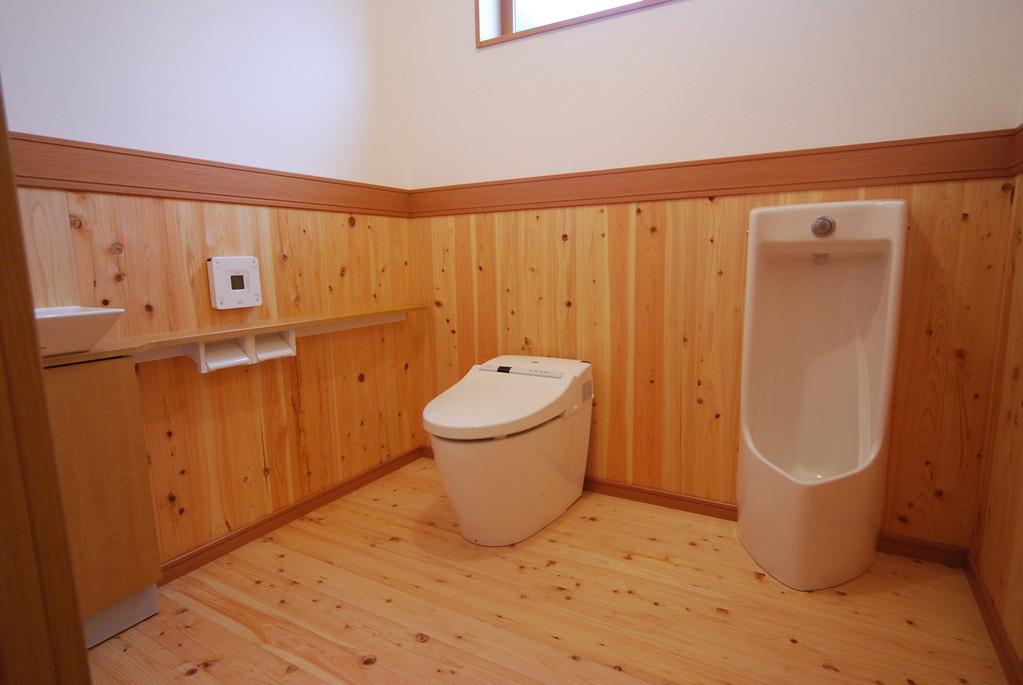 1坪のトイレ
