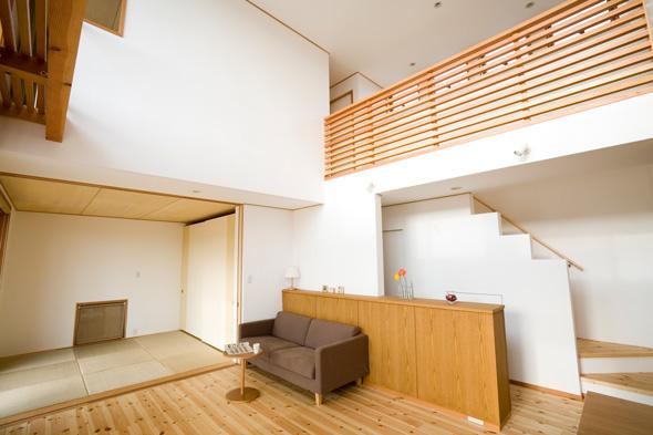 ふすま紙デザイン会社DM用和洋室素材元写真