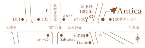 AnticaMap、地図