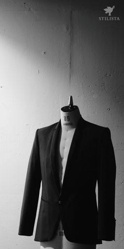 フライヤー変形サイズ縦長名古屋市中区栄洋服作品展表