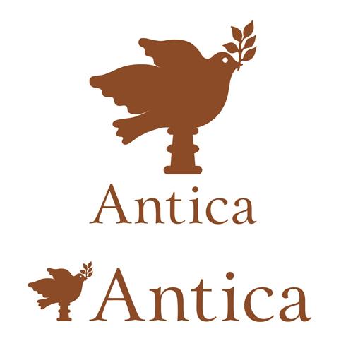 アンティーク&アート&ギャラリーショップ ロゴデザイン