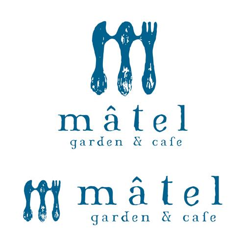 マテル ガーデン&カフェ_ロゴデザイン_名古屋市緑区
