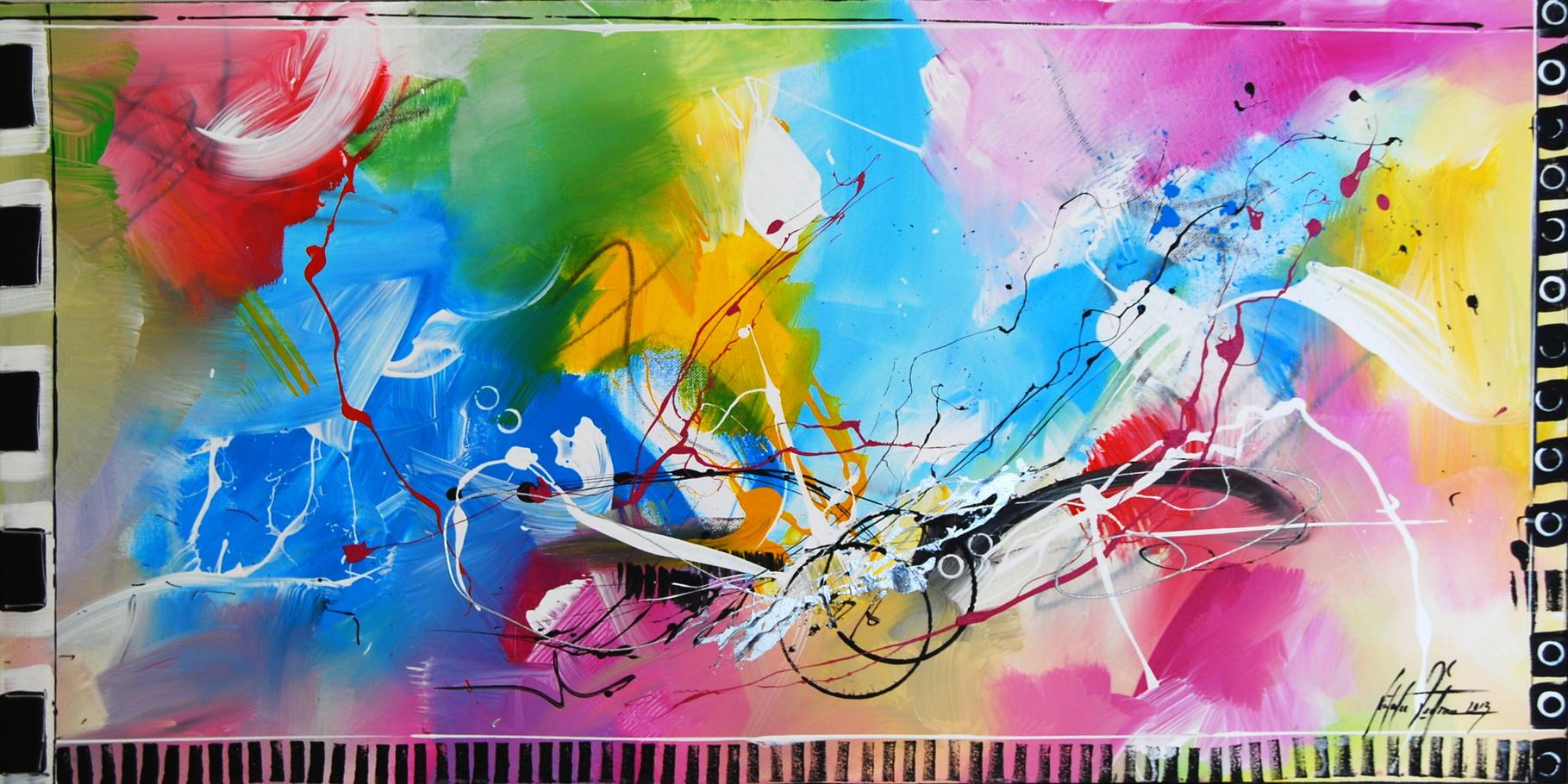 Im Rausch der Sinne 13. 100 x 50 cm