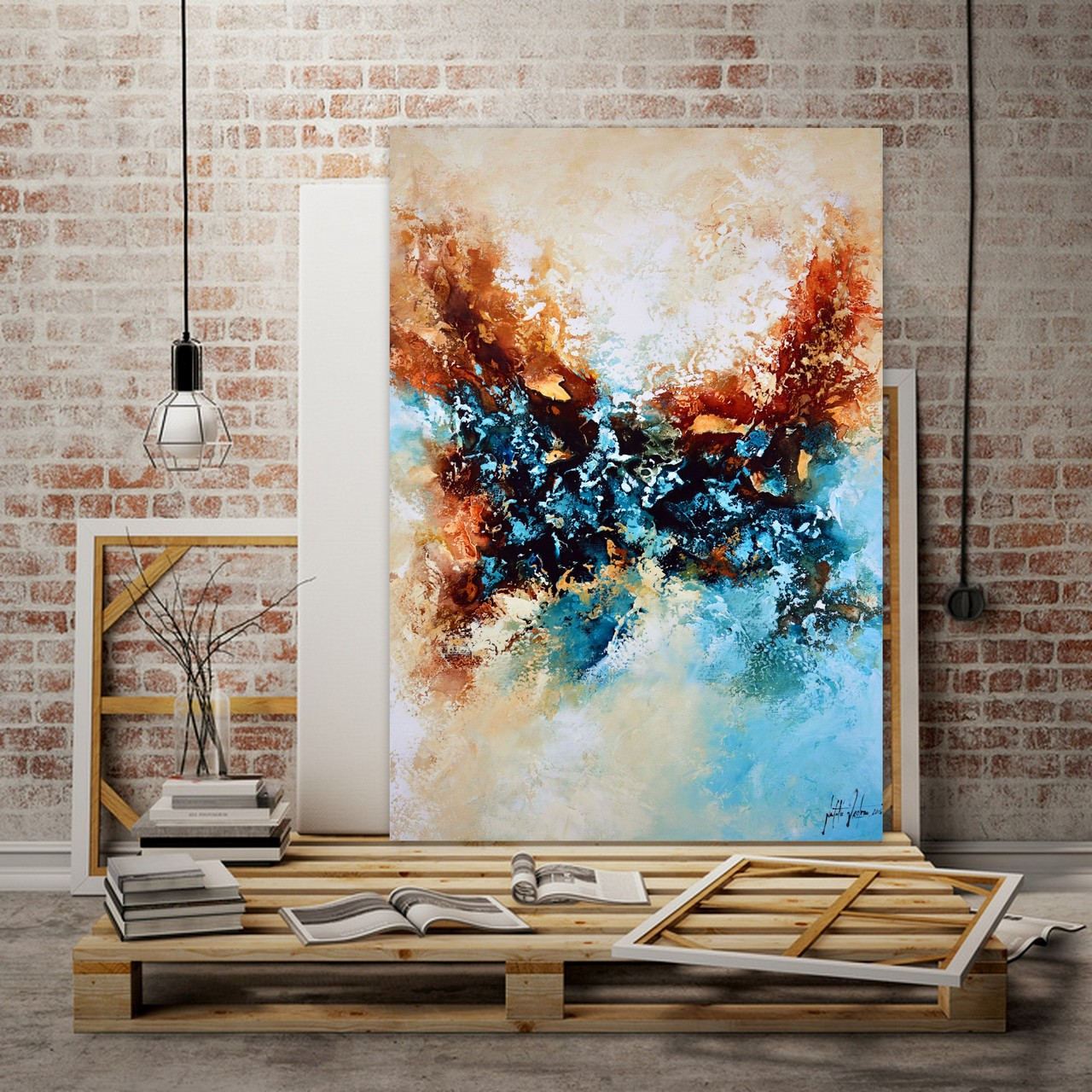 Online shop kunstgalerie natalie fedrau for Moderne acrylbilder wanddekorationen
