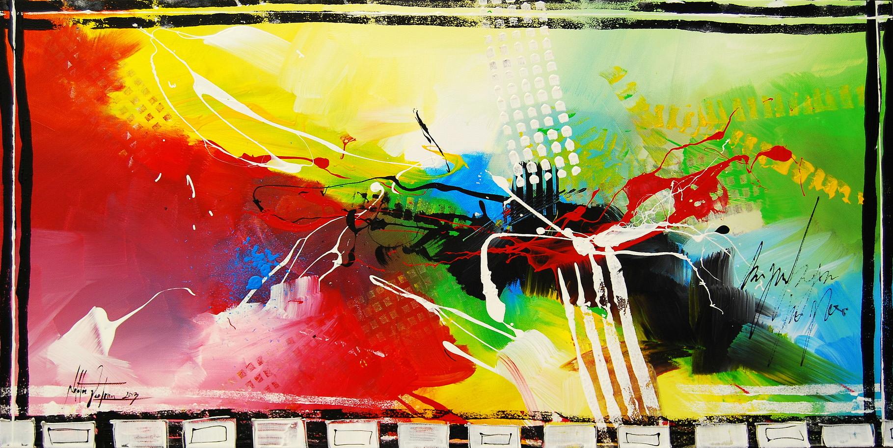 Im Rausch der Sinne 14, 100 x 50 cm