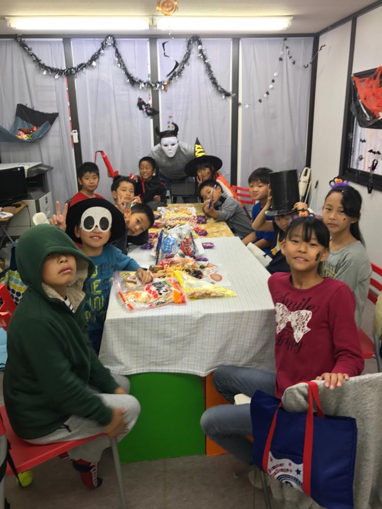 恒例のハロウィンパーティ!