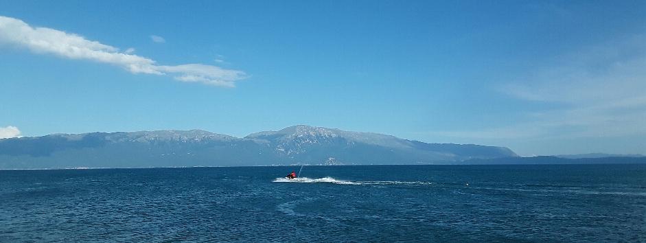 Wir verabschieden uns vom Ohrid-See
