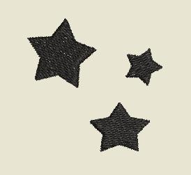 Sterne gefüllt