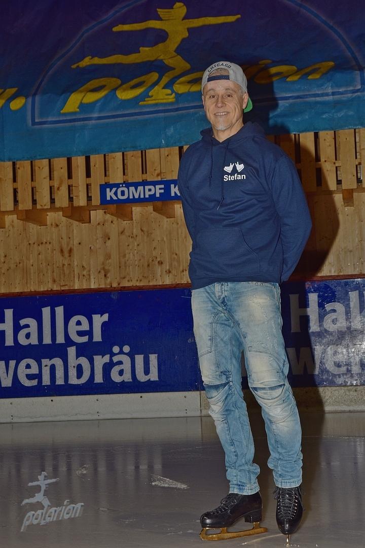 Stefan Hildinger - Betreuer, Sponsor, Support - Eissportler seit 1975