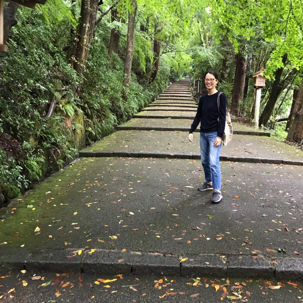 じゅんこです。いとこと白山比咩神社へ