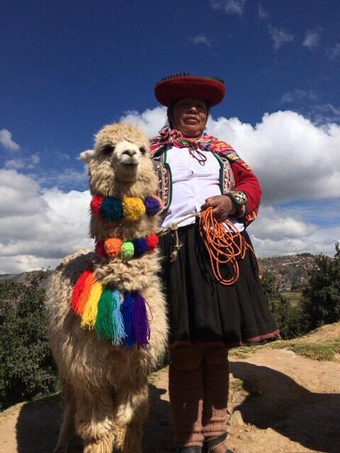 ペルーっぽい写真を1枚。