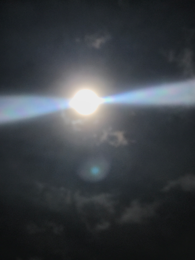 クスコから見た太陽…何か出まくりです。