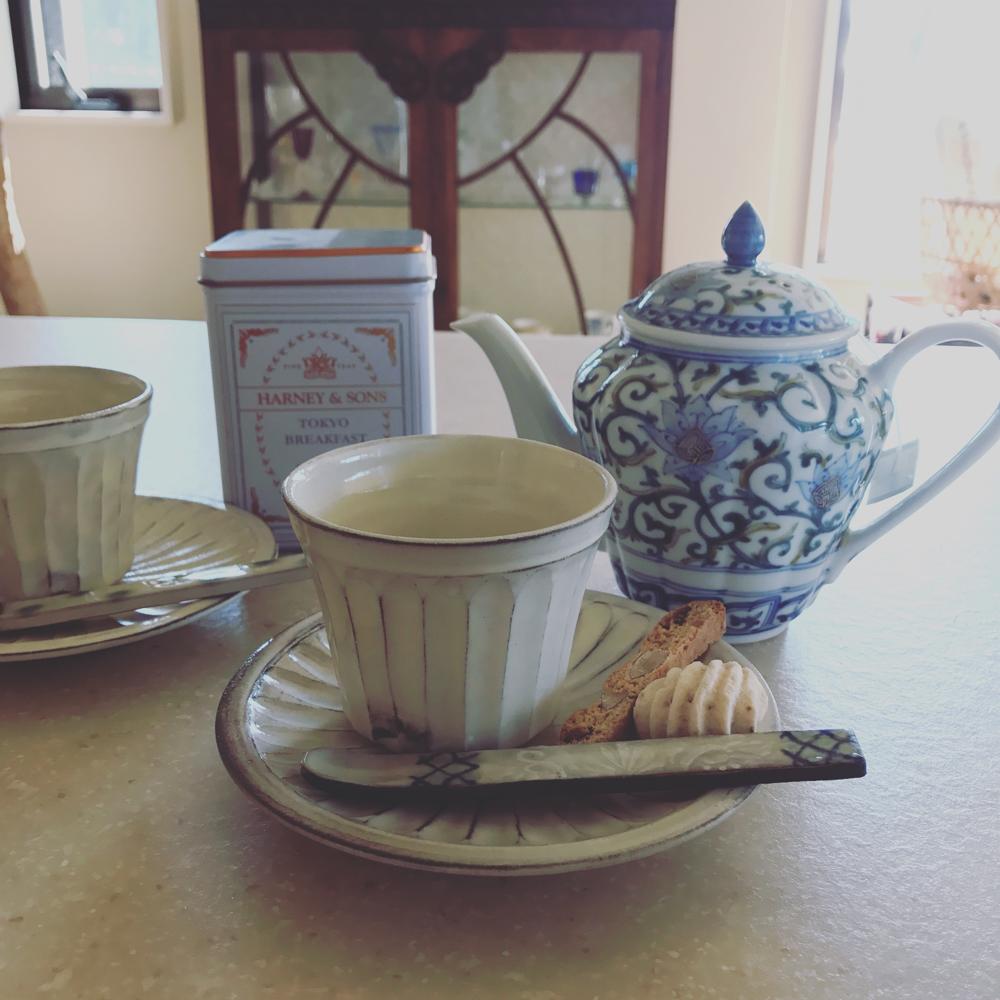 アロマでお茶会ではテーマごとにお茶が違います♡