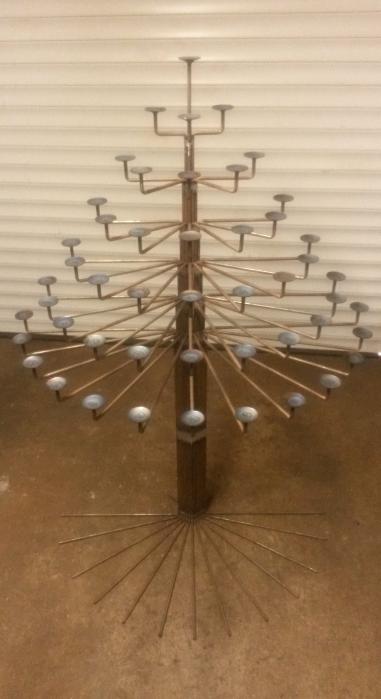 """Teelichtbaum """"Der Bestatter"""""""