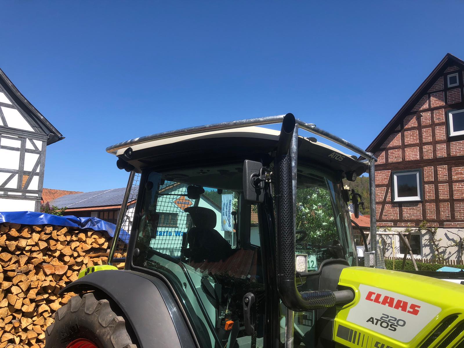Traktor An- und Aufbauten
