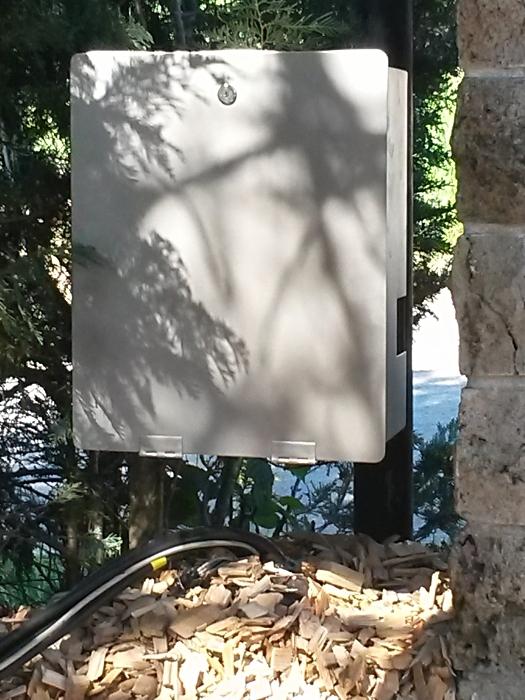 Edelstahl Schutzgehäuse für Torantriebssteueruung