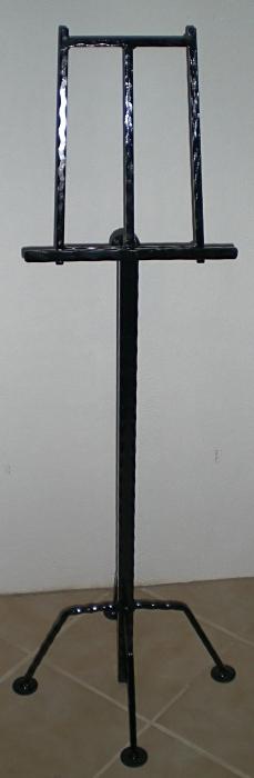 Buchständer schmiedeeisen schwarz lackiert