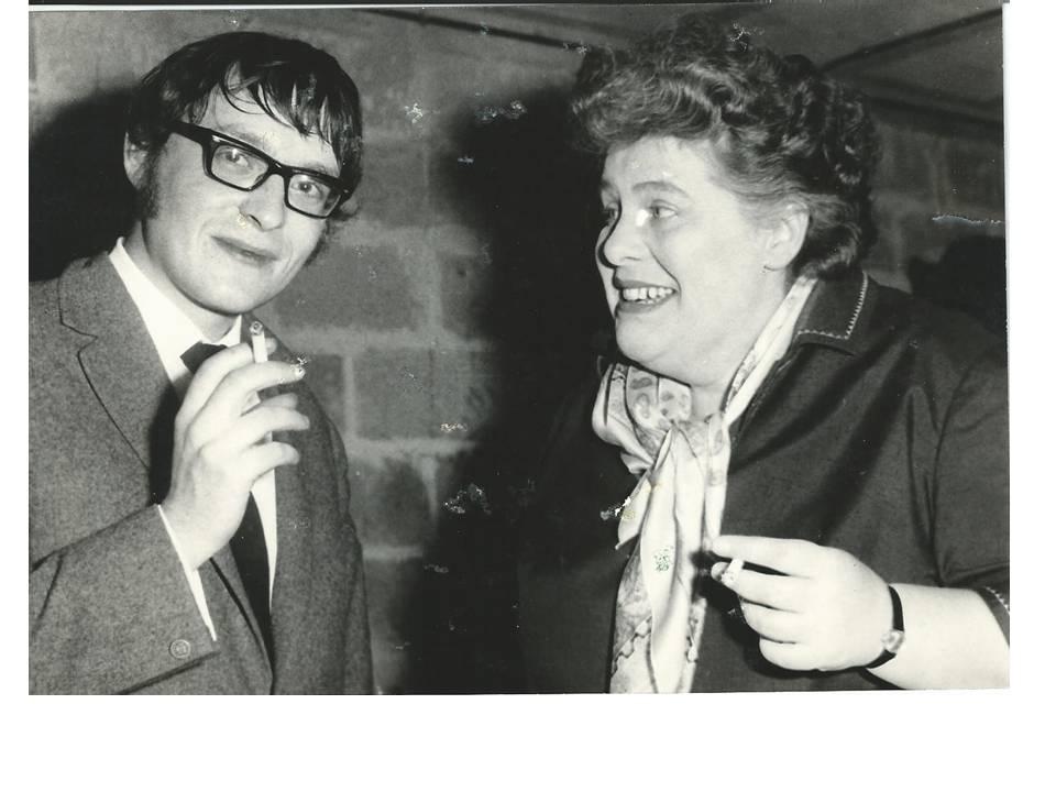 Jean-Marie Quiesse et Colette Magny - Le Virgule Caen 1967
