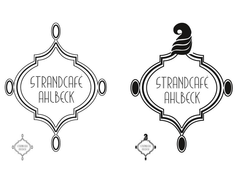 Logoentwurf 04, angelehnt an den Einrichtungsstil der Goldenen Zwanziger