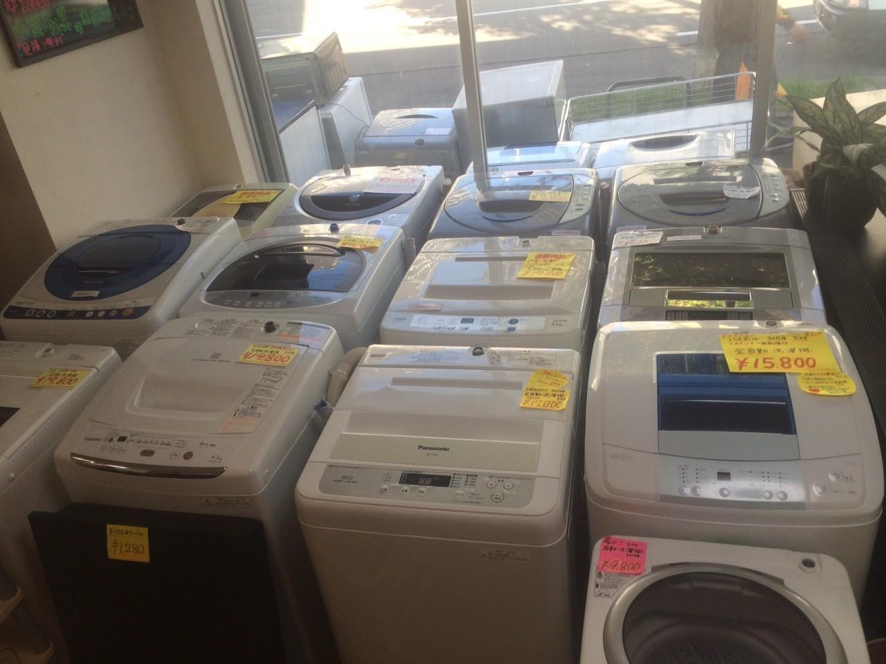 札幌市中央区にあるリサイクルショップはプラクラすすきの店!洗濯機買取、販売強化中!