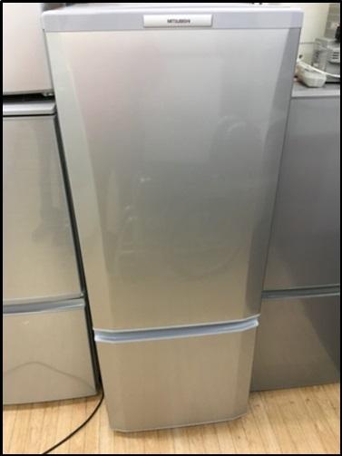 三菱2ドア冷蔵庫の買取はプラクラへ♪