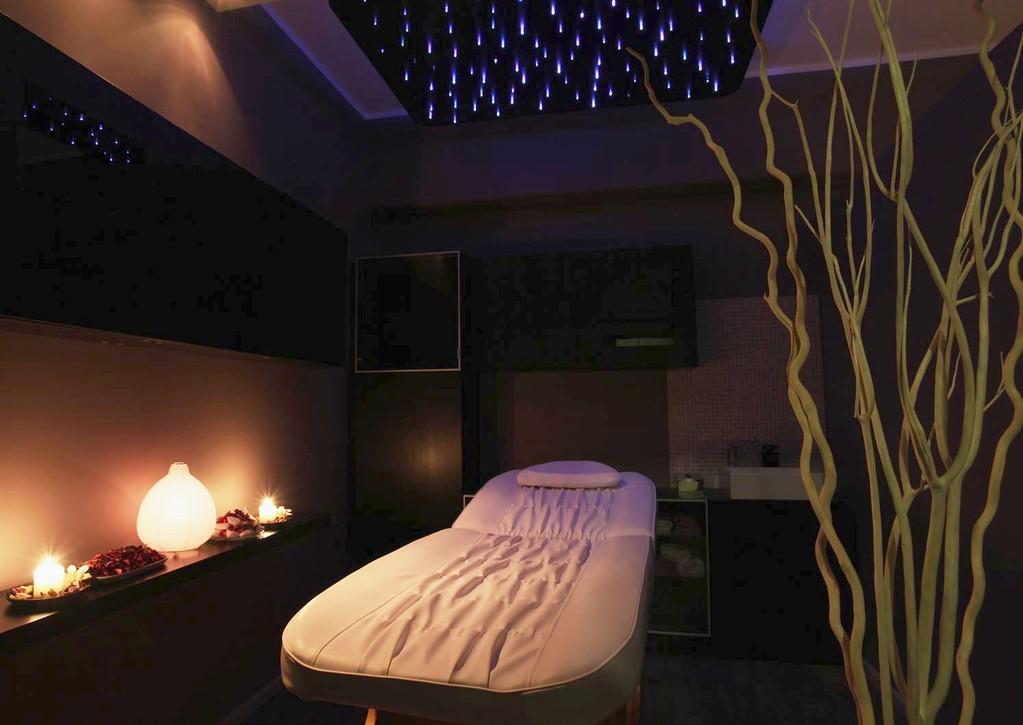 Cabina massaggi cromoterapia onda